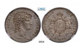 05.05.2013, Auction 2/ 2554. Italy, Joachim Murat, 1808-1815, 5 Lire 1813, Silver , NGC AU55