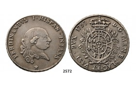 05.05.2013, Auction 2/ 2572. Italy, Parma and Piacenza, Ferdinand of Bourbon, 1765­-1802, Ducato 1797, Silver