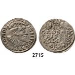 05.05.2013, Auction 2/2715. Poland, Sigismund III. Vasa, 1587-1632, 3 Groschen (Trojak) 1595-I/FS/C, Bydgoszcz (Bromberg), Silver