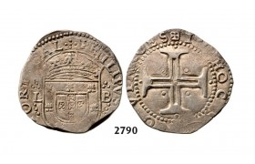05.05.2013, Auction 2/ 2790. Portugal, Philip II, 1598­-1621, Tostao (100 Reis) No Date, Lisbon, Silver