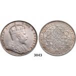 05.05.2013, Auction 2/3043. Straits Settlements (Singapore/Malaysia), Edward VII, 1901-1910, Dollar 1907-H, Birmingham, Silver