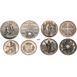 05.05.2013, Auction 2/3060. Switzerland, Lots, Silver lot, 4 items!