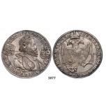 05.05.2013, Auction 2/3077. Transylvania, Rudolph II, 1576-1608, Taler 1598-NAGI BANIA, Nagybanya, Silver