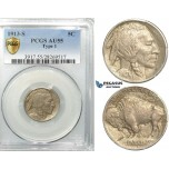 R522, United States, Buffalo Nickel (5C.) 1913-S