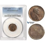 R833, United States, Lincoln Cent 1909-VDB, PCGS MS64BN