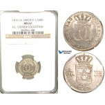 V77, Sweden, Carl XIII, 1/24 Riksdaler 1810 OL, Stockholm, Silver, NGC MS62 (Only one graded) ex. Lissner, SM 25