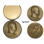 ZL35, Sweden, Bronze Medal 1953 (Ø65mm. 91.8g) Iwar Sjogren, Medicine, Owl