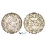 ZM102, United States, Barber Dime (10C) 1913, Philadelphia, Silver, AU
