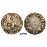 ZM126, Germany, Art Nouveau Silver Medal ND (Ø40mm, 26.68g) Buchschlag, Horticulture Prize