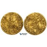 ZM164, Germany, Hamburg, Maximilian I, Ducat 1497, Gold (3.54g) VF