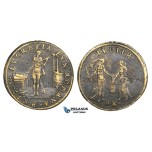ZM167, Germany, Bronze Token Medal 1601 (Ø28mm, 5.45g) by Hans Krauwinckel, Nuremberg, Lucretia