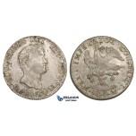 ZM168, Mexico, Augustin I Iturbide, 8 Reales 1823 Mo JM, Mexico City, Silver, VF-XF