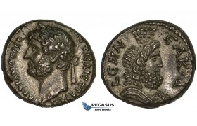 ZM303, Roman Provincial, Alexandria, Hadrian (117-138 AD) Bl Tetradrachm (13.64g) Nilus, gEF