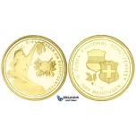 ZM457, Switzerland, Shooting 1000 Francs 1989, Le Locle, Gold (25.95g) Ch Proof