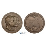 ZM478, Sweden, Bronze Medal 1930 (Ø56mm, 72.6g) by Ohlson, Arctic Balloon Polar Expedition