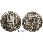 ZM504, France, Lorraine, Charles IV, Teston 1626, Nancy, Silver (8.54g) F-VF