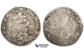 ZM541, Netherlands, Holland, Lion Daalder (Taler) 1576, Silver (26.79g) Delm. 830. F-VF