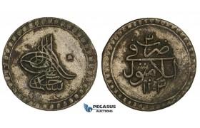 ZM546, Ottoman Empire, Turkey, Selim III, Onluk (10 Para) AH1203/3, Islâmbûl (Istanbul) (1.75g) XF
