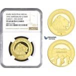 ZM675, Switzerland, Shooting 1000 Francs 1992, Le Locle, Gold, Zurich - Dielsdorf, NGC PF68 Ultra Cameo, Mintage 175pcs