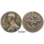 ZM710, Sweden, Silver Medal ND (Ø27mm, 12.8g) Alfred Nobel, Swedish Medical Society