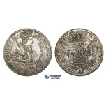 ZM712, Austria, Archduke Leopold, Taler 1632, Hall, Silver (28.45g) Cleaned long ago, deposits, aXF