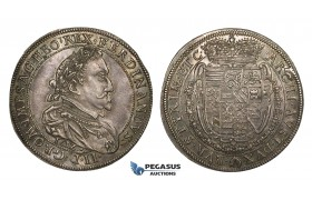 ZM714, Austria, Ferdinand II, Taler 1632, Graz, Silver (28.06g) Cabinet toning, lustrous UNC