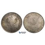 ZM717, Germany, Frankfurt, X Mark - Taler 1796, Silver (28.10g) Cabinet toning, few adjustment marks, aUNC