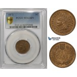 ZM862, United States, Indian Cent 1872, Philadelphia, PCGS MS63BN
