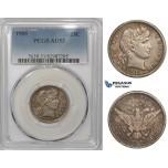 ZM869, United States, Barber Quarter (25C) 1905, Philadelphia, Silver, PCGS AU53