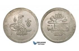 ZM913, Ottoman Empire, Turkey, Abdülhamid I, 2 Kurush (80 Para) AH1187/16, Kostantiniye, Billon (30.55g) Rare!