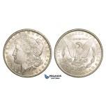ZM918, United States, Morgan Dollar 1884-CC, Carson City, Silver, Lustrous Ch UNC