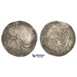ZM94, Sweden, Erik XIV, Daler (Taler) 1561, Stockholm, Silver (27.98g) SM 5, F-VF (some corrosion and deposits)