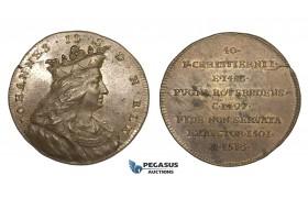 ZM969, Sweden, Bronze Medal ND (c. 1700) (Ø34mm, 14.2g) by Hedlinger, Johann II